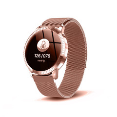 Couple watches fashion trend waterproof simple temperament waterproof watch students rose gold