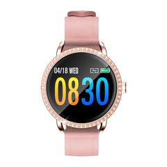 Smart Bracelet Bluetooth Waterproof HR BP Monitoring Fitness Tracker red