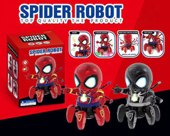 Spider Man Robot Music and Dancing Toy red RCT-1425HD