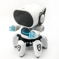 Six Feet Dancing Robot Music Robot Toy White RCT-142HD
