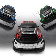 Angry Stunt Car Remote Control Car Toy Red RCC-85J-HD
