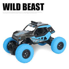 4WD Independent Shock Absorption Remote Control Car Multi-Player Toy Blue RCC-8851HD
