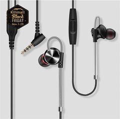 DM10 Metal Magic Sound Magnetic Sports Phone Headset black