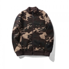 Fashion Coat Men camouflage Casual Hoodied  loose hip hop streetwear Clothing Jacket khaki s