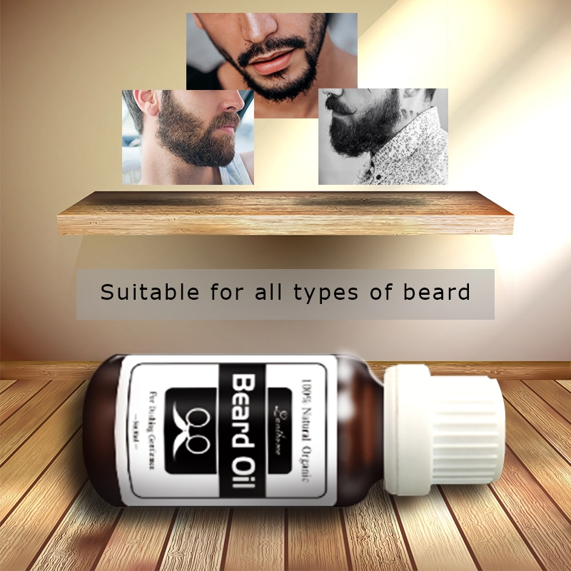 Hair and Beard growth oil Men beard grooming products 100%natural  accelerate facial hair grow