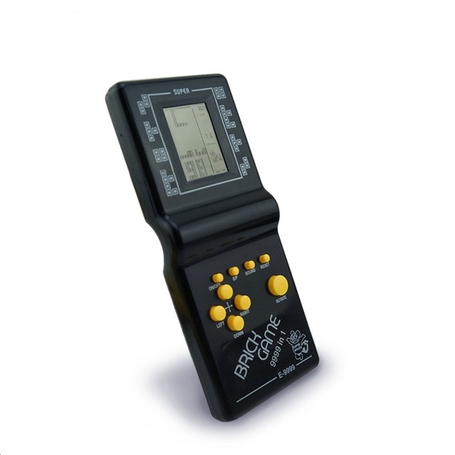 Retro Classic Childhood Tetris Handheld Game Players LCD Electronic Games Toys