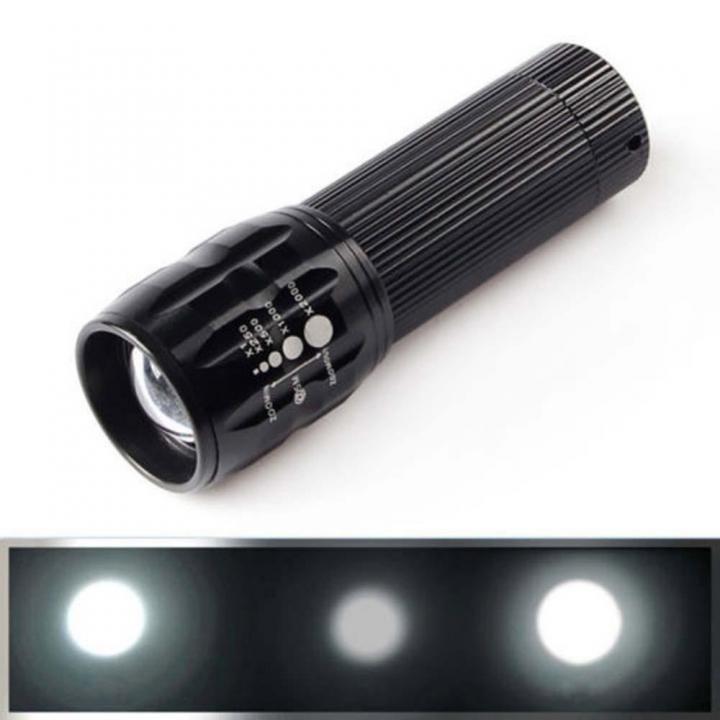 CREE Q5 LED Flashlight 2000LM Waterproof Torch lamp powerful Mini flashlight