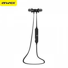 Awei A980bl Bluetooth Earphones Headset Wireless Headphones black