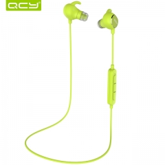 QCY QY19 IPX4-rated sweatproof headphones bluetooth 4.1 wireless sports earphones green