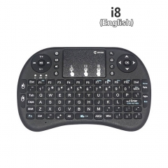 i8+ 2.4GHz Wireless Keyboard Air Mouse Touchpad Handheld for Android TV BOX Mini PC