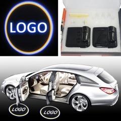 2PCS/pair Car LED Door Welcome Logo Laser Projector Shadow Light