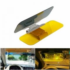 Car Sun Visor HD Car Anti-Glare Dazzling Goggle Day Night Vision Driving Mirror UV Fold Flip Down As shown one size