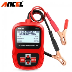 ANCEL Bst200 Car Battery Tester Multi-language Battery System Detect Automotive Bad Cell Battery
