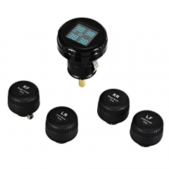 Universal TPMS External Sensor Built-in Water-resistant Pressure Monitoring System LCD  Display