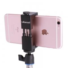 Ulanzi IRON MAN Aluminum Universal Phone Mount Holder Stand Clip Tripod Mount Adapter