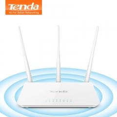 Tenda F3 300Mbps Wireless WiFi Router Wi-Fi Repeater, Multi Language Firmware,1WAN+3LAN Ports