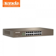 Tenda 16 Port Fast Enternet Network SwitchTEF1016D Network Monitor Splitter Backplane\