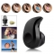 Mini Wireless in ear Earpiece Bluetooth Earphone Cordless Hands free Headphone Blutooth as shown