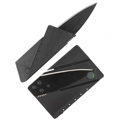 1pcs Credit Card Knives Lot, folding, wallet thin, pocket survival micro knife