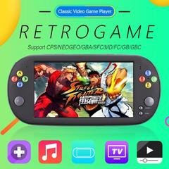 X16 7 Inch Game Console Handheld 8GB Retro Classic Video Game Player