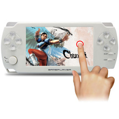 Coolbaby 4.3 inch touch palm PSP game machine 8G memory GBA game console handheld touch screen