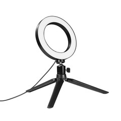 DSLR Photographic Studio Selfie Ring Light 3200K-5500K With Camera Photo Dimmable LED Lighting
