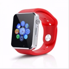 fashion Smart watch a1g08 sim / TF bluetooth exercise pedometer Android mobile watch red