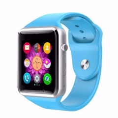 fashion Smart watch a1g08 sim / TF bluetooth exercise pedometer Android mobile watch blue