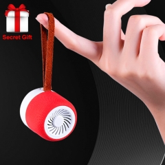 Mini Bluetooth Small Subwoofer Speaker Creative Portable Wireless Bluetooth Speaker black one size
