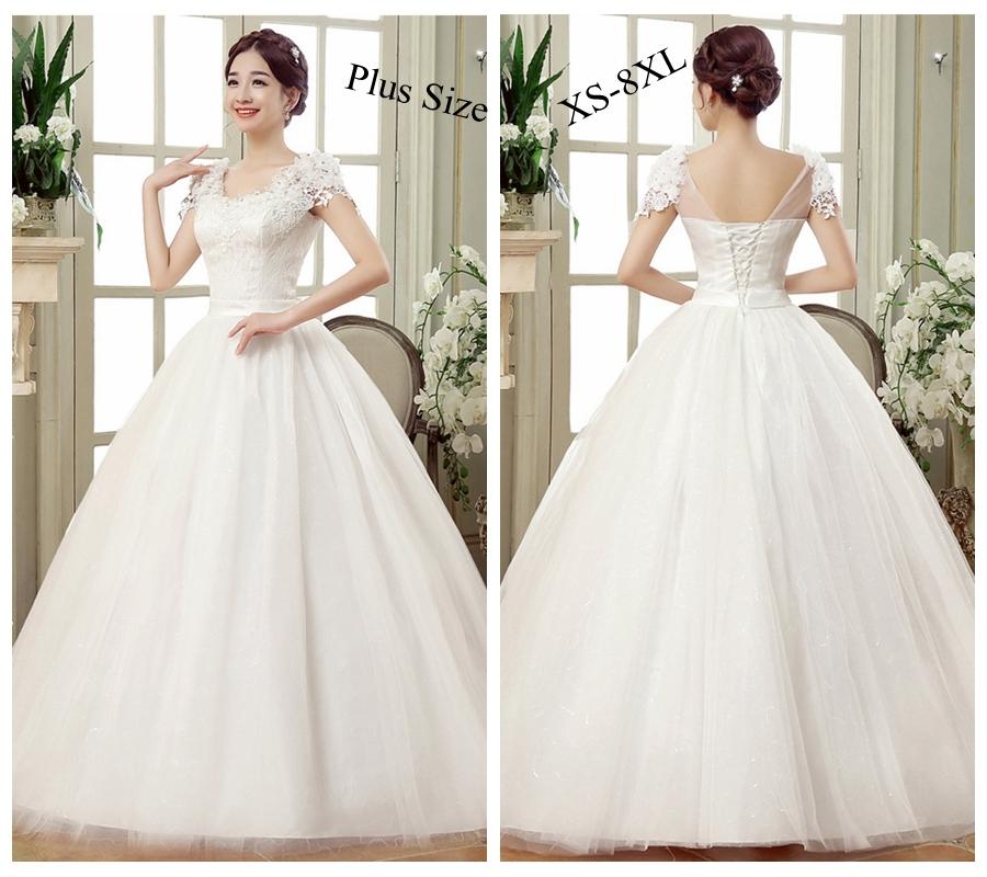 5d47b5baea92 ... Plus Size Wedding Dress Bride Dresses Ball Gowns white 4xl: Product No:  546321. Item specifics: Brand:
