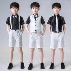 Boys' Clothing New Fashion Summer Children Baby Boys Clothes Girls Tracksuits Infant Clothing Kids Cotton Cartoon Vest Shorts 2pcs/sets Suits