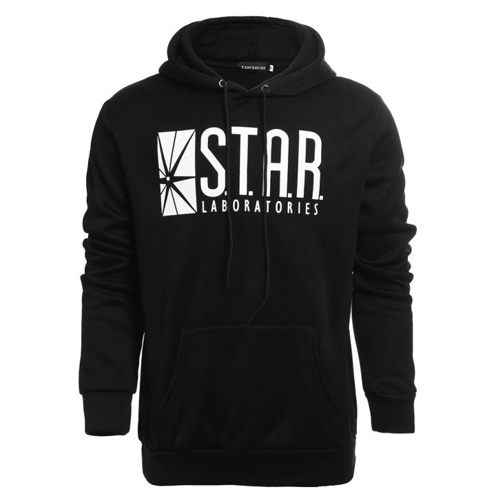 New STAR men's hooded suit jacket for autumn and winter black black m