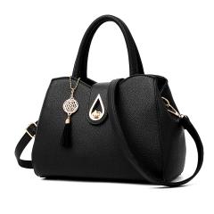 Shoulder Bags Tote Purse Satchel Women Messenger Hobo Bag Black one size black one size