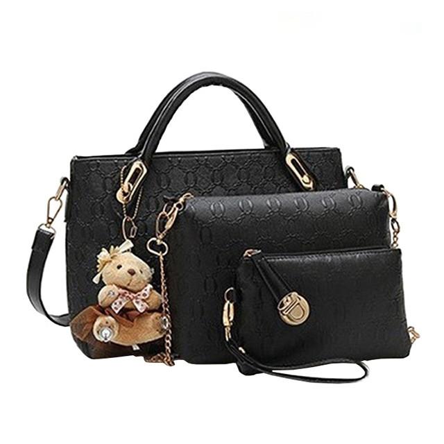 a02a7498bc Handbag 5 colors Classic Fashion Women Luxury Handbag PU Leather ...