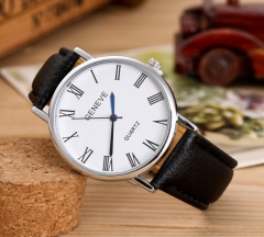 Six models of fashionable men's belt watches brown