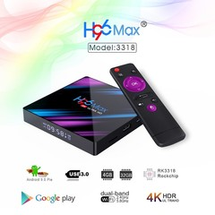 Android Smart Tv box h96 max RK3318 4K HD 4GB + 32GB Network Player Android 9.0 iptv box player one color 4 gb ram+32 gb rom