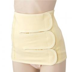 High Quality Women Breathable Waist Tummy Girdle Glass Waist Trainer Body Shaper yellow M
