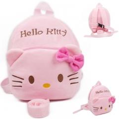 Children cartoon school bag pink 20*9*23cm