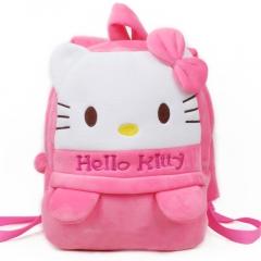 Children cartoon school bag pink 27*12*37cm