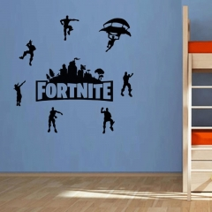 Fortnite Wall decor sticker for game room house Black 56 x 15 cm