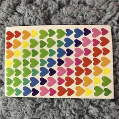 Lovely DIY little stickers for decor 10 pcs 1 15 x 9.5 cm (10pcs)