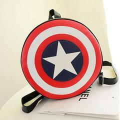 2019 Round Printing Star backpack shoulder bag 1 32 x 32 x 8 cm