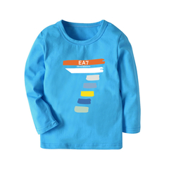 Boy and Girl Fashion Long sleeve T shirt top with 9 colors 4 140 cm