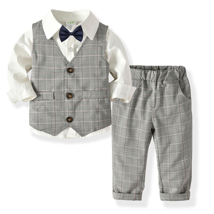Boy Formal Clothing suit set for party for feast A 80 cm