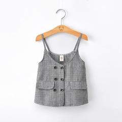 2019 New design Girl gallus vest dress top 1 90 cm