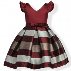 Children Dress Baby Girl Party Dress Exquisite Girl Clothes Pink 160#
