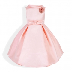 Baby Clothes Girl Dress Beautiful Dress Party Dress pink 100#