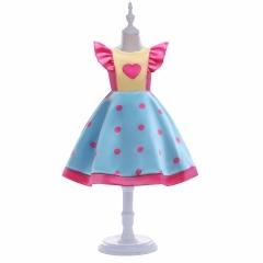 Princess Girl Dress Disney Princess Beauty Dress 2018 New Fashion Princess Dress 140#
