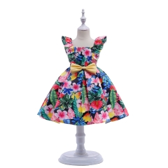 Baby Clothes Girl Dress Beautiful Dress Party Dress Carnival Dress Formal Dress Wedding Dress Flowers 110#