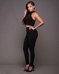 Women clothes suits separates lady fashionable clothes girl suits black s